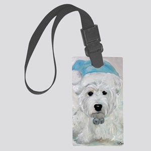 Tarheel Santa Large Luggage Tag