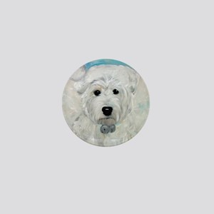 Tarheel Santa Mini Button