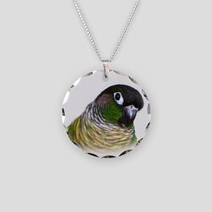 Green Cheek Conure Necklace