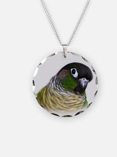 Green Cheek Conure.jpg Necklace