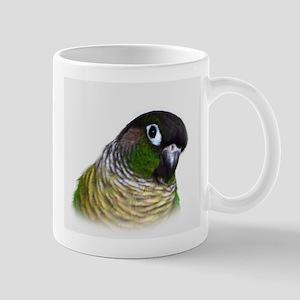 Green Cheek Conure Mugs