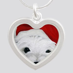 Bah Humbug! Silver Heart Necklace