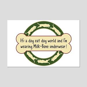 Dog Eat Dog World - Mini Poster Print