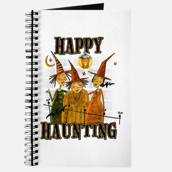 Happy Haunting 3 Witches Journal
