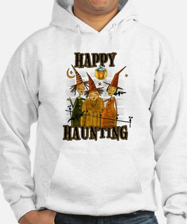Happy Haunting 3 Witches Jumper Hoody