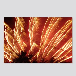 Fire works in New Jersey  Postcards (Package of 8)