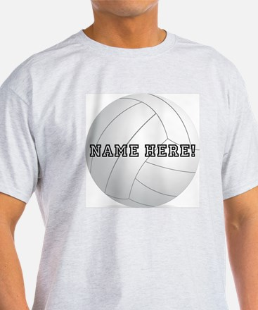 Personalized Volleyball Player T-Shirt