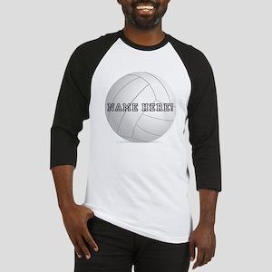 Personalized Volleyball Player Baseball Jersey