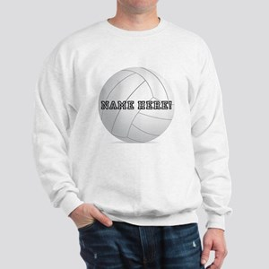 Personalized Volleyball Player Sweatshirt