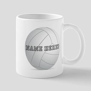 Personalized Volleyball Player Mug