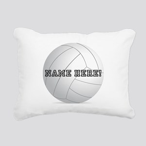 Personalized Volleyball Player Rectangular Canvas