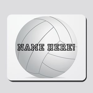 Personalized Volleyball Player Mousepad