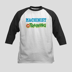 Machinist in Training Kids Baseball Jersey