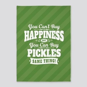 Pickles Happiness 5'x7'Area Rug