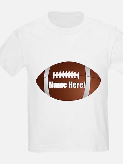 Personalized Football T-Shirt