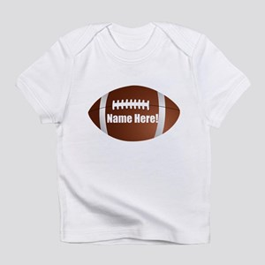 Personalized Football Infant T-Shirt