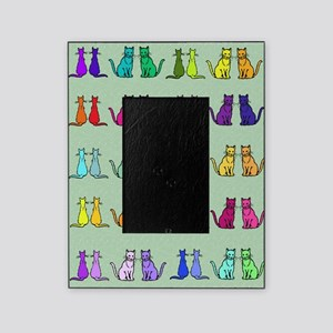 Rainbow Of Cats Picture Frame