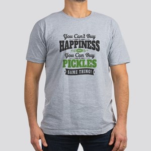 Pickles Happiness Men's Fitted T-Shirt (dark)