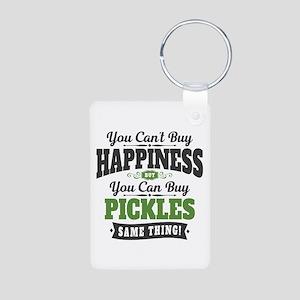 Pickles Happiness Aluminum Photo Keychain