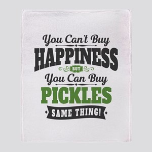 Pickles Happiness Throw Blanket