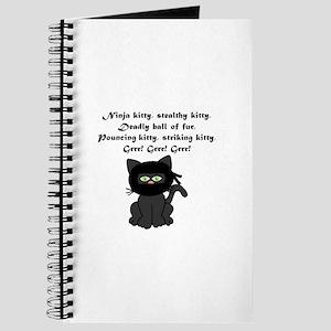Ninja Kitty Journal