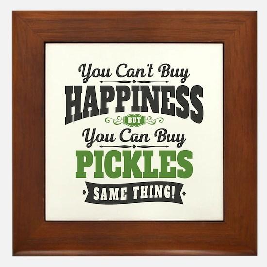 Pickles Happiness Framed Tile