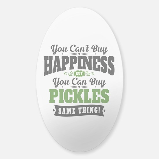Pickles Happiness Sticker (Oval)