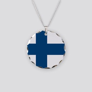 Finnish Flag Necklace