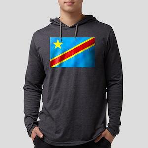 Congolese Flag Long Sleeve T-Shirt