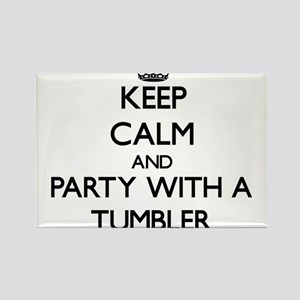 Keep Calm and Party With a Tumbler Magnets