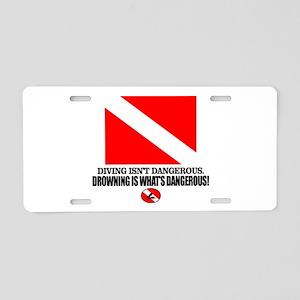 Dive Flag (Diving Not Dangerous) Aluminum License