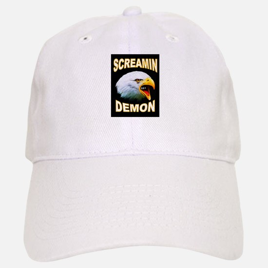 SCREAMIN DEMON Baseball Baseball Baseball Cap