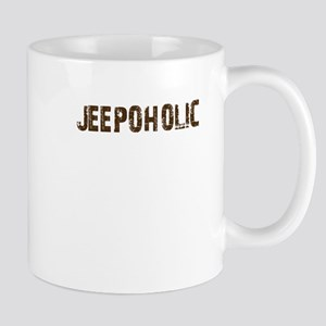 Jeepoholic. 4x4 Off Road Jeep Mug