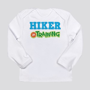 Hiker in Training Long Sleeve Infant T-Shirt