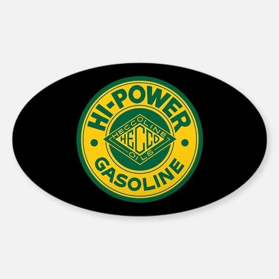 Hi-Power Gasoline Sticker (Oval)