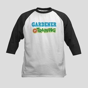 Gardener in Training Kids Baseball Jersey