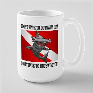 Dive Flag (Outswim) Mugs