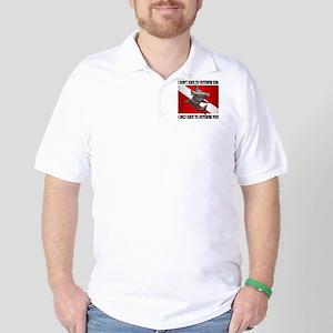 Dive Flag (Outswim) Golf Shirt