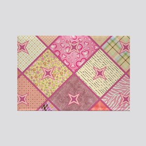 PINK PARADISE Rectangle Magnet