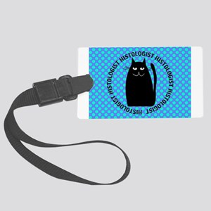 HISTOLOGIST CAT LOVER 3 Luggage Tag