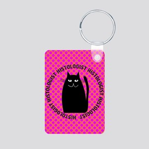 HISTOLOGIST CAT LOVER Keychains