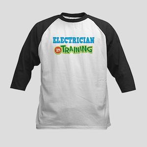 Electrician in Training Kids Baseball Jersey