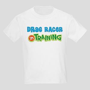 Drag Racer in Training Kids Light T-Shirt