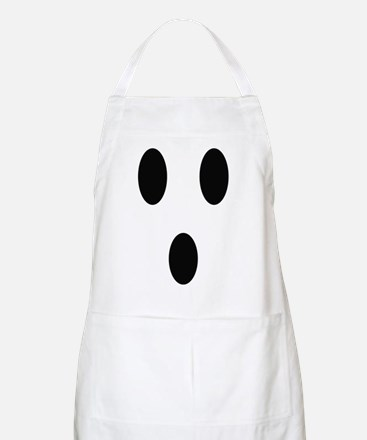 Ghost Face Apron