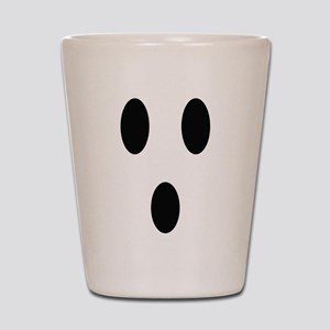 Ghost Face Shot Glass