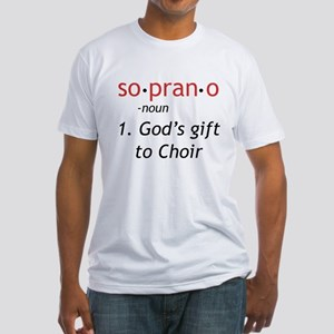 Soprano Definition Fitted T-Shirt