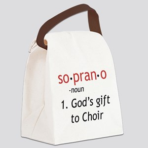 Soprano Definition Canvas Lunch Bag