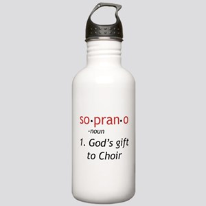 Soprano Definition Stainless Water Bottle 1.0L