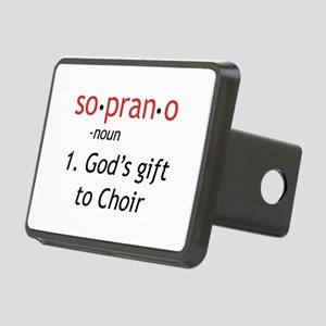 Soprano Definition Rectangular Hitch Cover