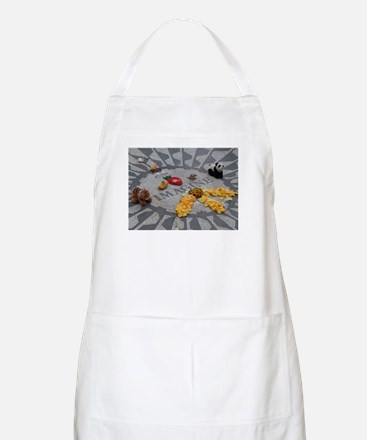 Imagine Strawberry Fields NYC Apron